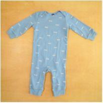 Macacão Azul 9 Meses Carter`s - 9 meses - Carter`s