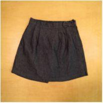 Short Saia Jeans 8 Anos Kaly - 8 anos - Sem marca