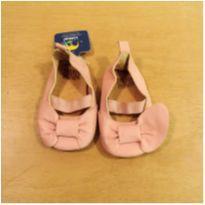 Sapato Rosa em Couro Legítimo Zara Tamanho 15 - 15 - Zara