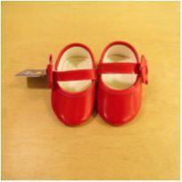 Sapato Vermelho Pimpolho Tamanho 18 - 18 - Pimpolho
