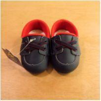 Mocassim Azul e Vermelho Pimpolho Tamanho 15 - 15 - Pimpolho