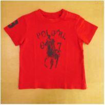 Camiseta Vermelha Ralph Lauren 12 Meses - 1 ano - Ralph Lauren
