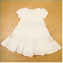 Vestido Branco Chicco 15 Meses - 1 ano - Chicco