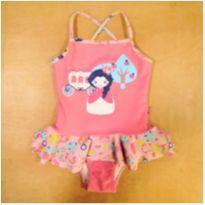 Maiô Puket Princesa Babado 2 Anos - 2 anos - Puket