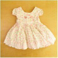 Vestido Cattai Florido  3-6 Meses - 3 a 6 meses - Cattai