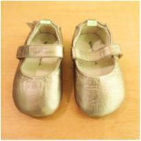 Sapato Tip Toey Joey Dourado Tamanho 18 - 18 - Tip Toey Joey