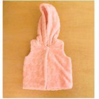 Colete  Disney Fleece Rosa 9-12 Meses - 9 meses - C&A