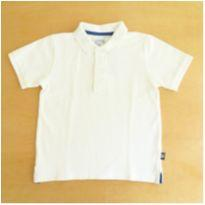 Camiseta Polo Branca Chicco 6 Anos - 6 anos - Chicco