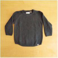 Blusa em Linha Zara Marinho 2-3 Anos - 2 anos - Zara
