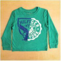 Camiseta Tommy Hilfiger Manga Longa 4-5 Anos - 4 anos - Tommy Hilfiger