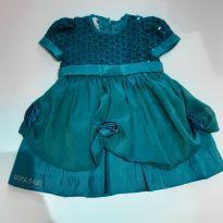 Vestido de festa encantador - 6 a 9 meses - GiraBaby