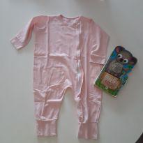 Macacão pijama - 9 a 12 meses - Não informada