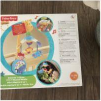 Móbile Zoo Musical - 2 Em 1 - Fisher Price - W9913 -  - Fisher Price