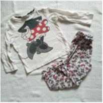 pijama inverno minnie - 2 anos - Disney