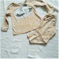 Pijama gatinha algodão - 2 anos - Kyly