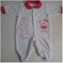 111-Macacão-P - 0 a 3 meses - Smoby Baby