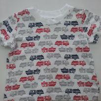 0117-Camiseta Menino 3 meses - 0 a 3 meses - Carter`s