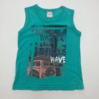 0148-Camiseta regata - Tam 2 - 2 anos - Brandili