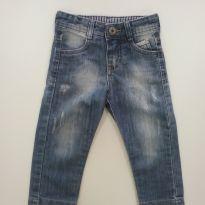 0177-Calça jeans - Tam 1 - 1 ano - YOYO KIDS