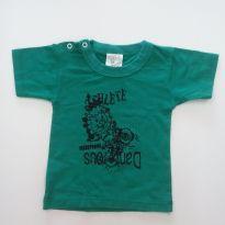 0193-Camiseta - Tam M - 3 a 6 meses - Mafessoni