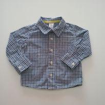 0423-Camisa xadrez Carters - Tam 9 meses - 9 meses - Carter`s