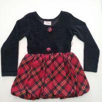 0504- Vestido Inverno - Tam 4 - 4 anos - Bambini