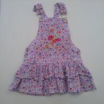 0520- Jardineira Vestido - Tam 2 - 2 anos - Kids