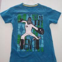 0191 - Camiseta Ben 10 - (Usadinho) - Tam 6 - 6 anos - Kids