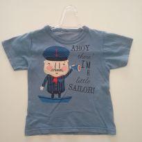 0152 - Camiseta - (Usadinha) - Tam 2 - 2 anos - Kids