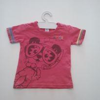 0031 - Camiseta Tigor - (Usadinha) - Tam M - 3 a 6 meses - Tigor T.  Tigre