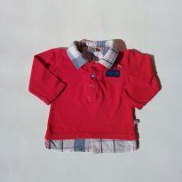 0447 - Camisa Menino - Tam 6 a 9 meses - 6 a 9 meses - Teddy Boom