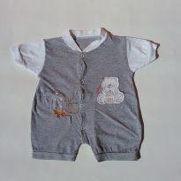 0331 - Macacão Menino - Tam P - (Usadinho) - 3 meses - Baby