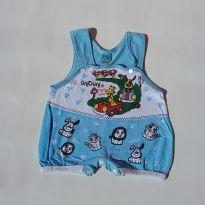0473 - Macacão Menino - Tam P - 3 meses - Baby