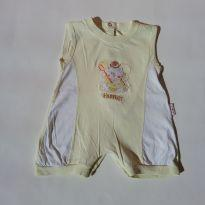 0480 - Macacão Unissex - Tam M - (Usadinho) - 3 a 6 meses - Baby