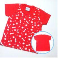 Camiseta Ossinhos - Tam M - 3 a 6 meses - Wilbertex