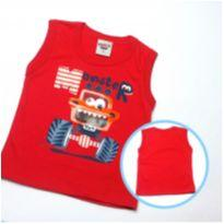 Camiseta Monster Carro - Tam M - 3 a 6 meses - PIMENTINHA KIDS