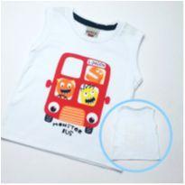 Camiseta Monster Bus - Tam M - 3 a 6 meses - PIMENTINHA KIDS