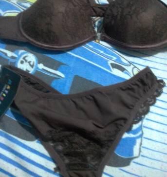 Conjuntinho de sutiã e calcinha - Sem faixa etaria - Variadas