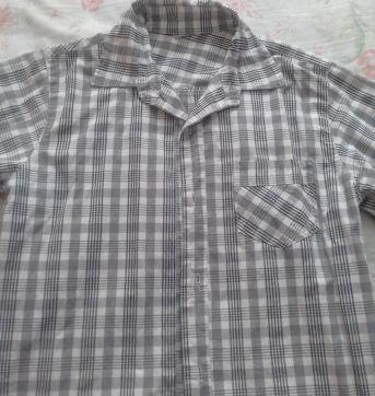 Camisa xadrez - 10 anos - Variadas