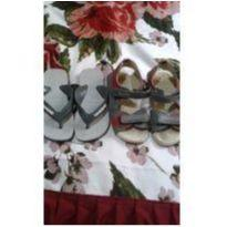 Kit sapato e chinelo - 24 - Havaianas