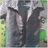 Camisa xadrez - 12 a 18 meses - Variadas