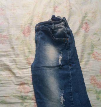 Bermuda jeans - 10 anos - Variadas