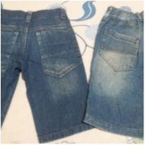 Duplinha de bermuda jeans - 6 anos - Variadas