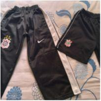 Calça e shorts do Corinthians