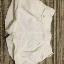 Shorts levinho e fininho branco - 12 a 18 meses - Zara