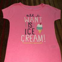 Camiseta pink da Carter's - 7 anos - Carter`s