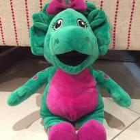 Baby Bop da turma do Barney, 30 cm, pelúcia original -  - Universal Studios