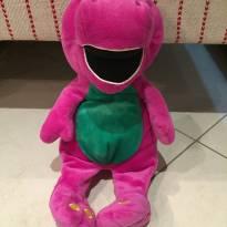 Barney de pelúcia, 30 cm, original -  - Universal Studios