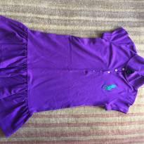 Vestido pólo da Ralph Lauren, cor roxa - 7 anos - Ralph Lauren