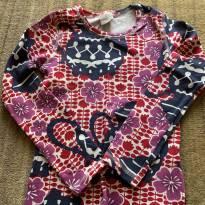 Conjunto camiseta manga longa com Shorts lilás com cintinho de tecido da PUC - 8 anos - PUC